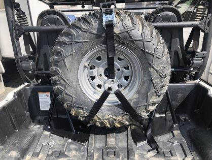 Wolverine X2 Spare Tire Rack