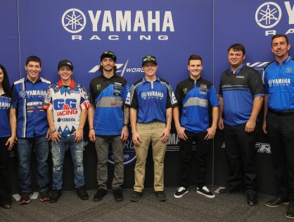 Yamaha Celebrates 2019 Wall of Champions Inductees